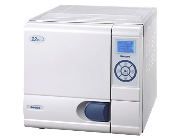 SEA-22L-B-LCD 22L Tabletop Autoclave